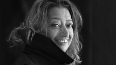 Zaha Hadid por Brigitte Lacombe