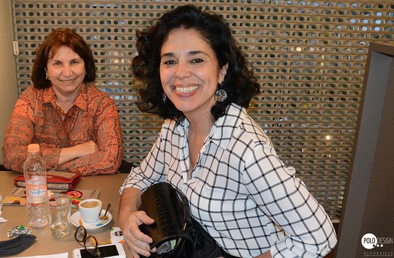 Celia Bernhart e Sandra Amaral (Fina Estampa)