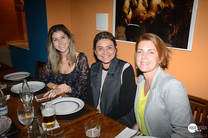 Rebecca Catalucci, Dinni Serra e Melissa Cobertt