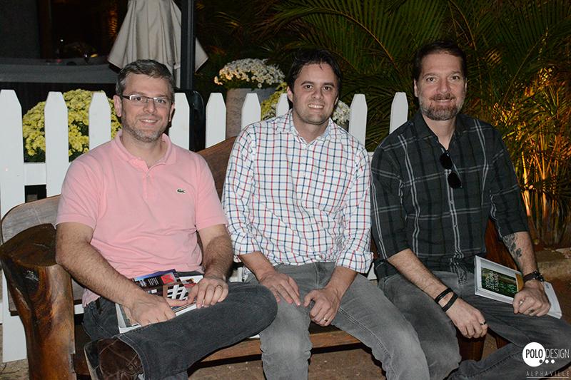 Gustavo Caminati, Francisco Moran e Luiz Mokdeci (Portobello)