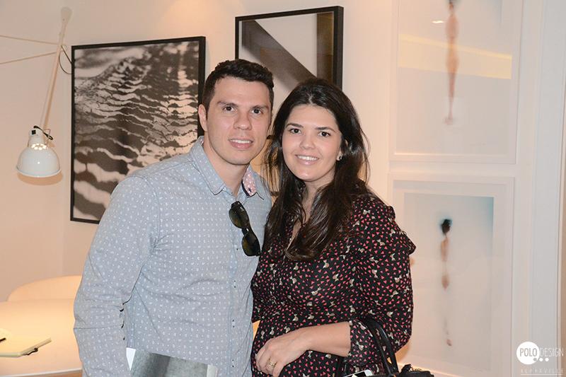 Luiz Caiafa e Ticiane Lima.