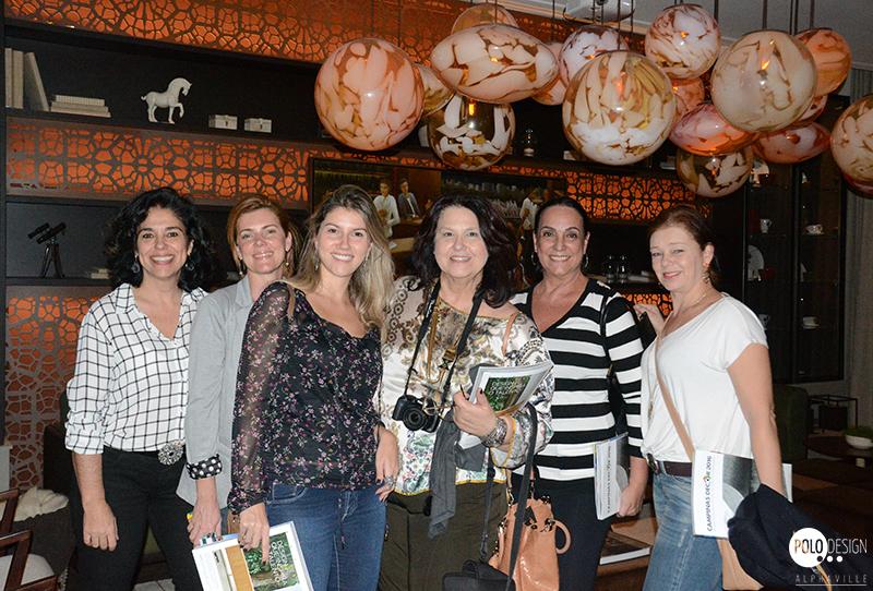 Sandra Amaral, Melissa Corbett, Rebecca, Tereza Soubhia (Bontempo, Vera Teixeira e Edi de Camargo (Bontempo)